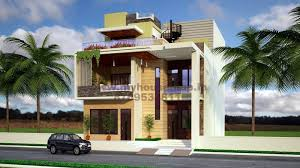modern house exterior elevation designs.