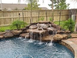 Pool Waterfall Ideas You Can Recreate In Your Backyard Decor