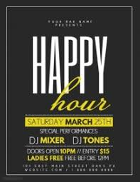 Happy Hour Invitation Template 2 020 Customizable Design Templates For Happy Hour Postermywall