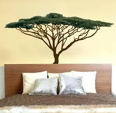 safari wall decor bedroom jungle theme decals for nursery animal silhouette