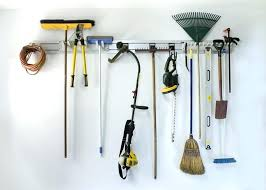garden tool hangers for garage wall storage how to store your r2