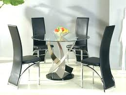 glass dining table designs modern dining table round modern round glass dining table dining tables small