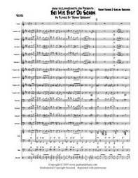 Bei Mir Bist Du Schon Big Band Jazz Vocal Chart Benny