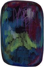 scribble black green blue rug by moooi carpets rugs