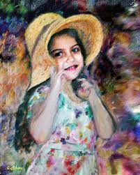renoir painting renoir girl by gretchenart fineart