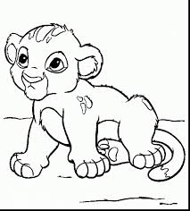 Small Picture good lion baby animals coloring pages with simba coloring pages