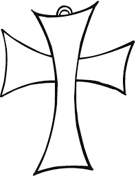 Printable Cross Coloring Pages Coloringmecom
