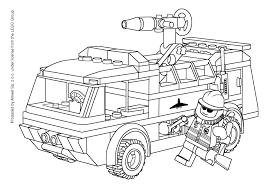 Coloriage Lego Pompier Imprimer Sur Coloriages Info