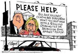 Image result for CLINTON CARTOON
