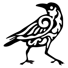 Crow Drawing Pattern Digitalspaceinfo