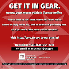 tennessee motor vehicle commission