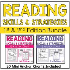 My Mini Anchor Chart Reading Skills And Strategies Anchor Charts Bundle