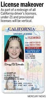 News The – Driver's New Mercury Id Cards Licenses And California For Look