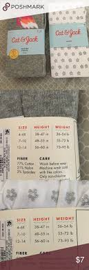 Cat And Jack Sock Size Chart 12 You Will Love Size Chart For Cat Jack