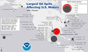 List Of Oil Spills Wikipedia