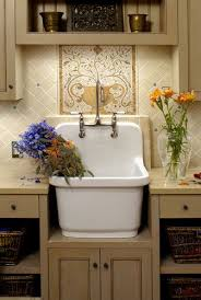 Utility Sink Backsplash Extraordinary 48 Amazing Vintage Sink Designs House Beautiful Pinterest