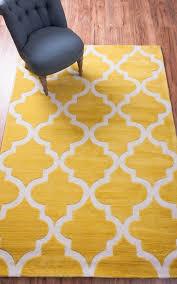 inspiring yellow area rug 5 7