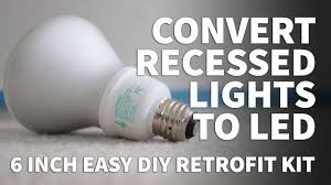 recessed lighting retrofit kits luxury how to install retrofit led lights 6 inch kit dimmable led