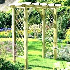 diy garden archway photo diy garden arbor ideas