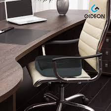 com gideon premium orthopedic seat cushion for office chair car truck plane wheelchairs etc provides relief for lower back pain tailbone
