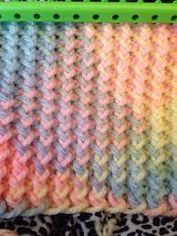 Loom Knitting Patterns Blanket New Ideas