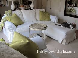 how to cover furniture. How Ot Cover A Sofa Or Chair With Slipcover To Furniture