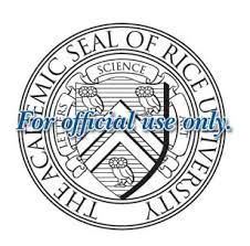 rice university shield. Contemporary University The Rice University Seal  In Shield I