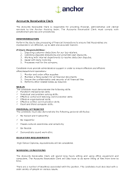 Accounts Receivable Duties And Responsibilities Free Resumes Tips