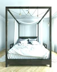 wood canopy bed king – godsavemyqueen.com