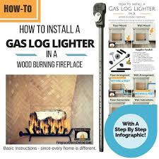 wood burning fireplace with gas starter inspirational fireplace gas starter pipe installation instructions