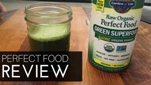 Garden of Life <b>Perfect</b> Food Review - YouTube