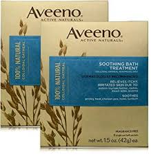 Amazon.com : Aveeno Soothing Bath Treatment For Itchy, Irritated ...