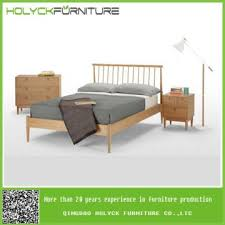 wooden spindle bed frame