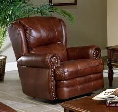 chestnut leather chair home cinema center 1 photo of 7 sofa set chestnut leather chair rocker recliner by 2 c tosoni