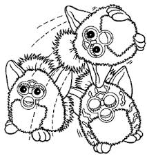 Furby Kleurplaten Animaatjesnl