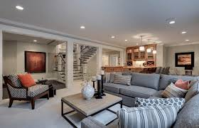 Basement ideas for family Hgtv Freshomecom Basement Decorating Ideas That Expand Your Space