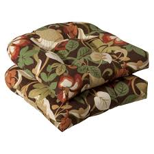 Amazon Pillow Perfect Indoor Outdoor Brown Green Tropical