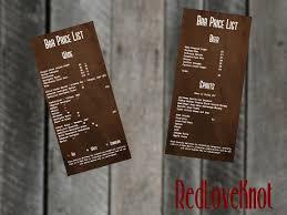 Rustic Menu Design Ideas Upmarket Masculine Menu Design Job Menu Brief For Hudson