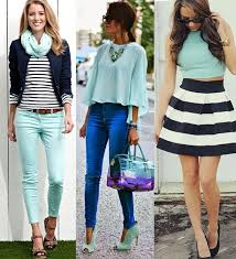 what color matches with mint green
