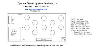 Round Table Seating Capacity Tent Layout Options Get The Right Tent For Your Event