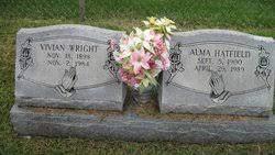 Alma Arnold Hatfield (1900-1989) - Find A Grave Memorial