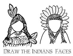 Native American Indian Coloring Pages Printable Coloring Pages