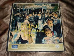 Reader S Digest Festival Of Light Classical Music Festival Of Light Classical Music 12 Set Record Album Lp
