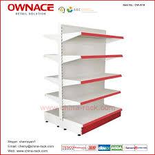 Metal Display Racks And Stands OWA100 Metal Shelf Display Rack Stand Supermarket Equipment 34