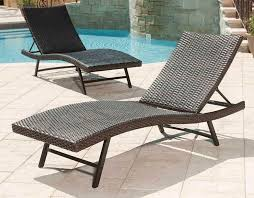 outdoor furniture chaise lounge rattan