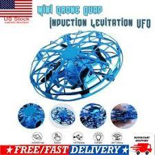 US Mini Drone Quad Induction Levitation UFO LED Light ... - Vova