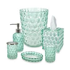glass bathroom accessories. Crystal Ball Glass Bathroom Accessories In Aruba C