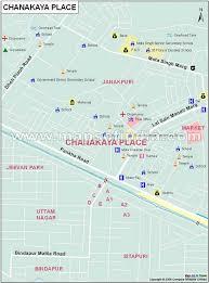 Chanakya Place Map