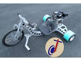 Industrial Drifter Trike Axle and Wheel Kit