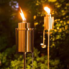 outdoor torches outdoor patio lights
